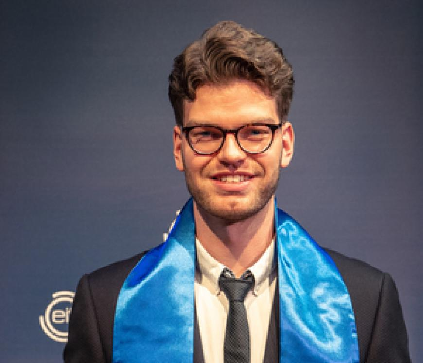 EIT Digital Master School alumnus builds social start-up for visually impaired people