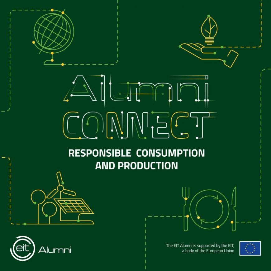 EIT Alumni CONNECT 2020 Responsible Consumption and Production