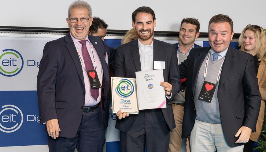 EIT Digital challenge winners 2016