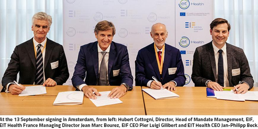 EIT Health and EIF collaborate