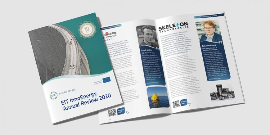 EIT InnoEnergy Annual Review 2020 published