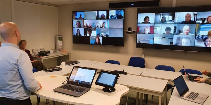 EIT InnoEnergy Hybrid Learning Classrooms