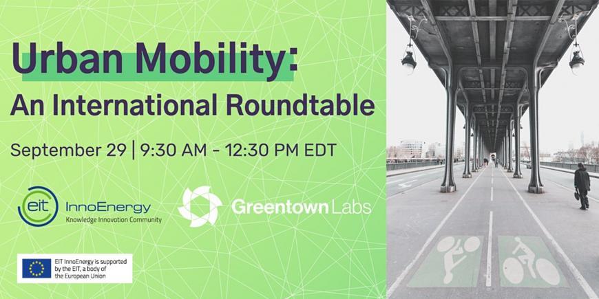 EIT InnoEnergy: Urban Mobility International Roundtable