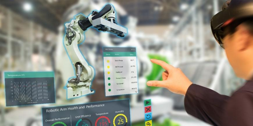 EIT Manufacturing's AMPLI project: Augmented Reality for zero-defect and flexible manufacturing