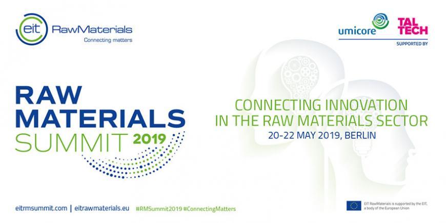 EIT RawMaterials Summit 2019