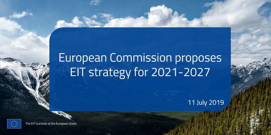EIT Strategic Innovation Agenda for 2021-2027