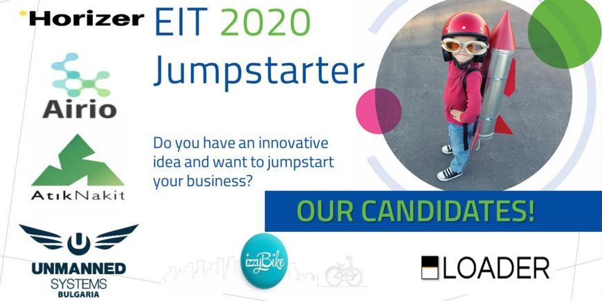 EIT Urban Mobility's candidates for the EIT Jumpstarter Grand Final