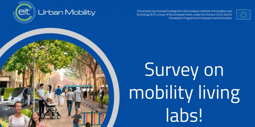 EIT Urban Mobility launches mobility living labs survey