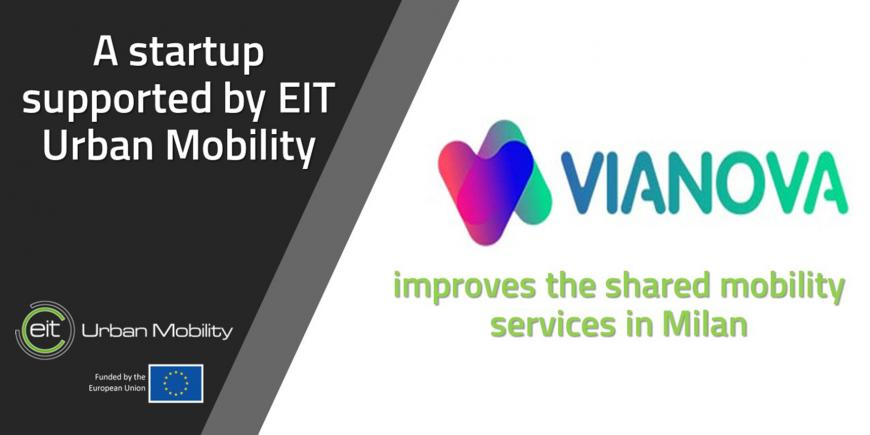EIT Urban Mobility supported start-up Vianova improves shared mobility services in Milan