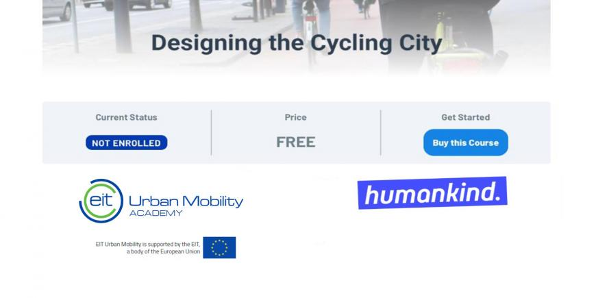 EIT Urban Mobility online courses for mobility professionals now available