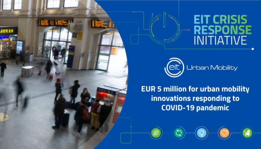 EUR 5 million for urban mobility innovations responding to COVID-19 pandemic