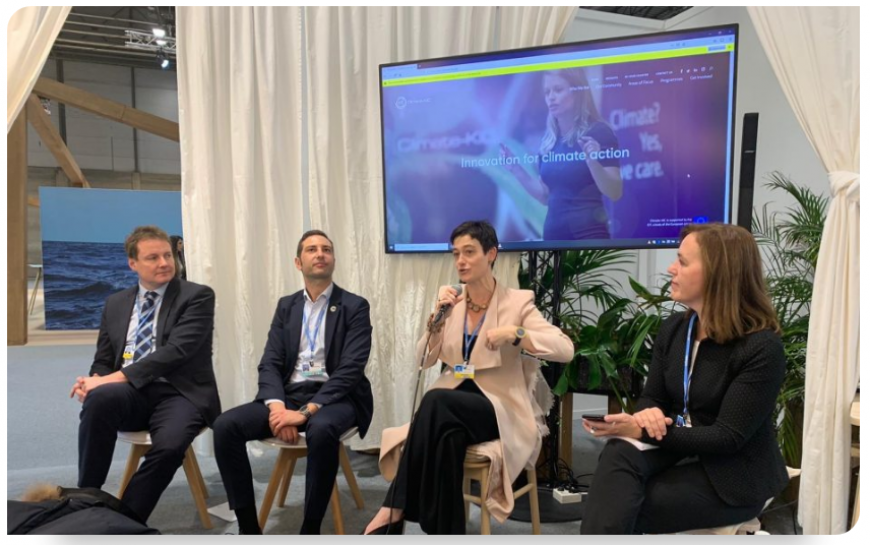 EIT Climate-KIC delivers panel session at COP25