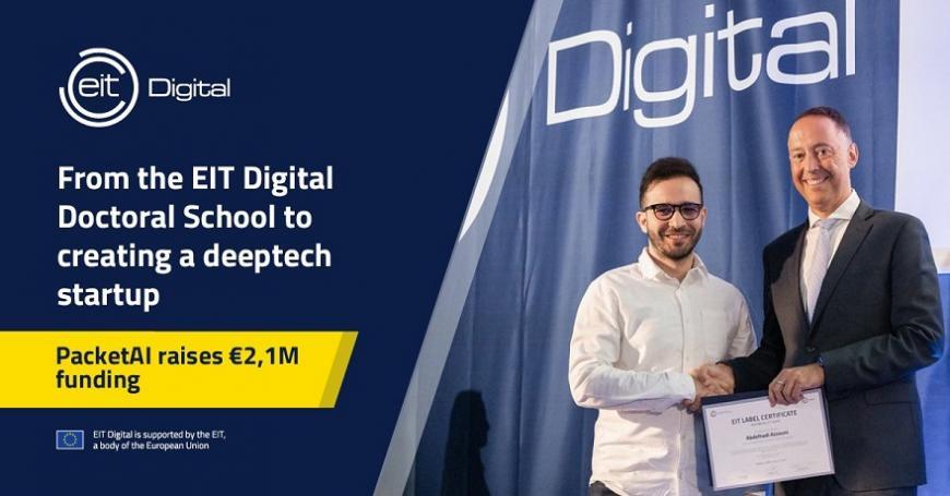EIT Digital PhD graduate raises EUR 2.1 million funding