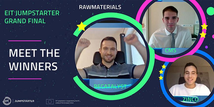 EIT Jumpstarter Grand Final announced top young businesses in the raw materials sector