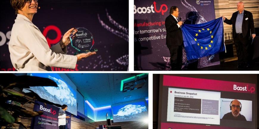 EIT Manufacturing: BoostUp Regional Final CLC East Winners