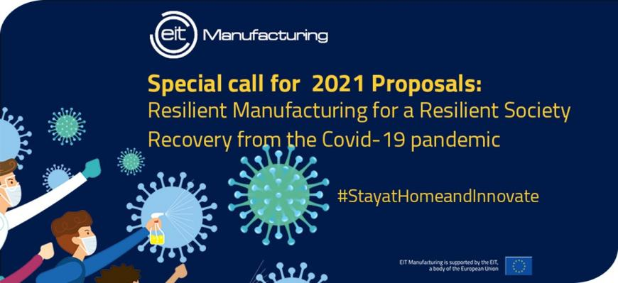 EIT Manufacturing: special call for proposals
