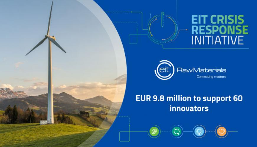 EUR 9.8 million from EIT RawMaterials Booster granted to 60 innovators