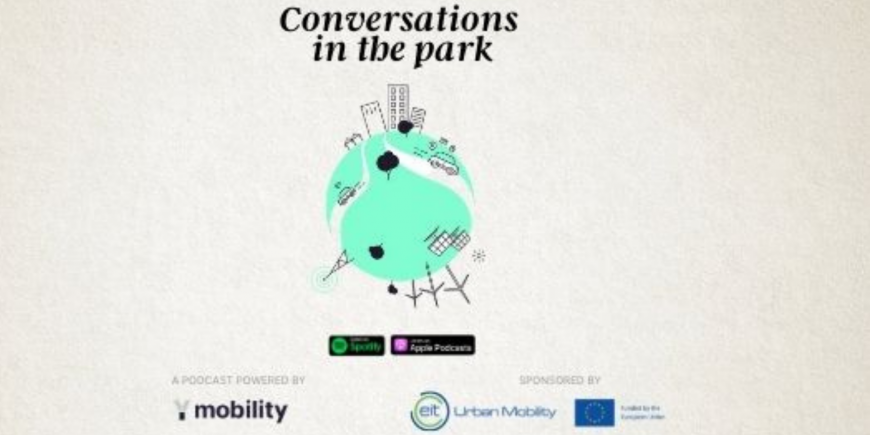 EIT Urban Mobility podcast on the ideal city of the future