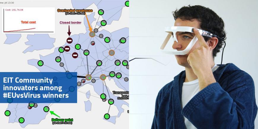 EIT Community innovators win in EUvsVirus Hackathon