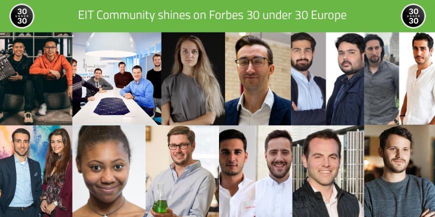 EIT Forbes 30 under 30