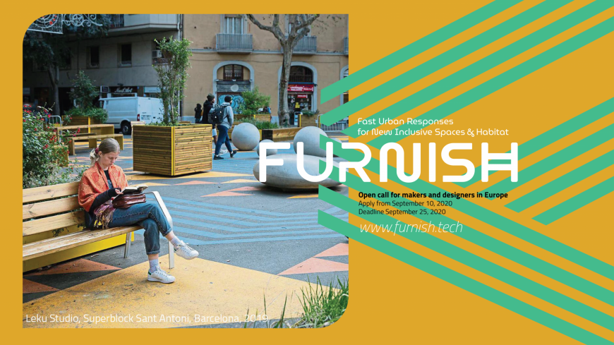FURNISH - The EIT Urban Mobility project that is reconfiguring public spaces