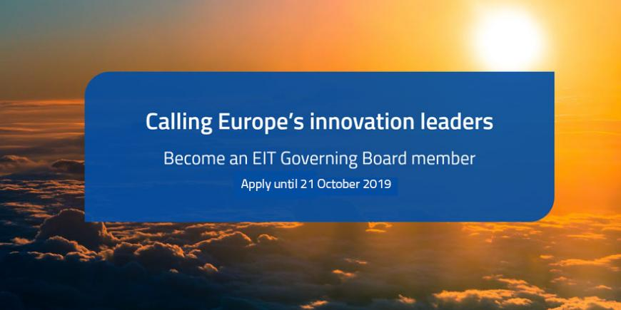 Call for EIT Governing Board members - extended