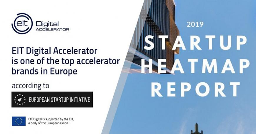EIT Digital Accelerator recognised as #4 Top Accelerator Brand in Europe