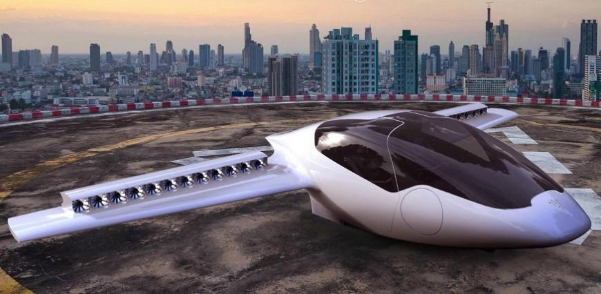 EIT Climate-KIC Lilium electric plane