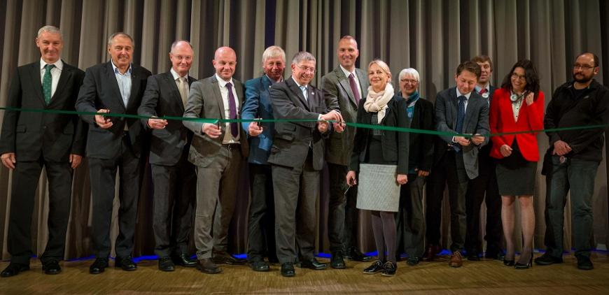 EIT RawMaterials opens a new Regional Center in Freiburg - Attendees at opening of Regional Center