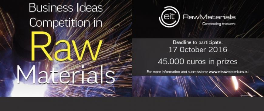 EIT Raw Materials Business Ideas Competition