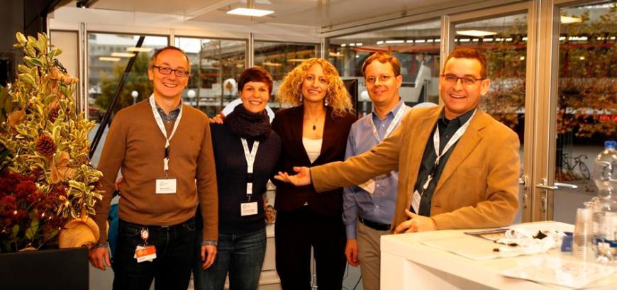 The German CLC Team during the German EIT Health 'Awareness & Roadshow Tour'.