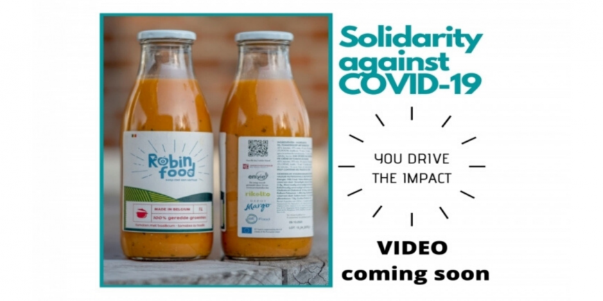 EIT Food transforms surplus vegetables into soups for social grocery stores and food aid