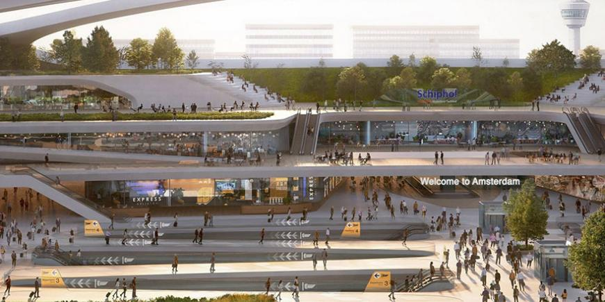 Hyperloop can play major role in Schiphol airport becoming the envisioned sustainable multi-modal hub