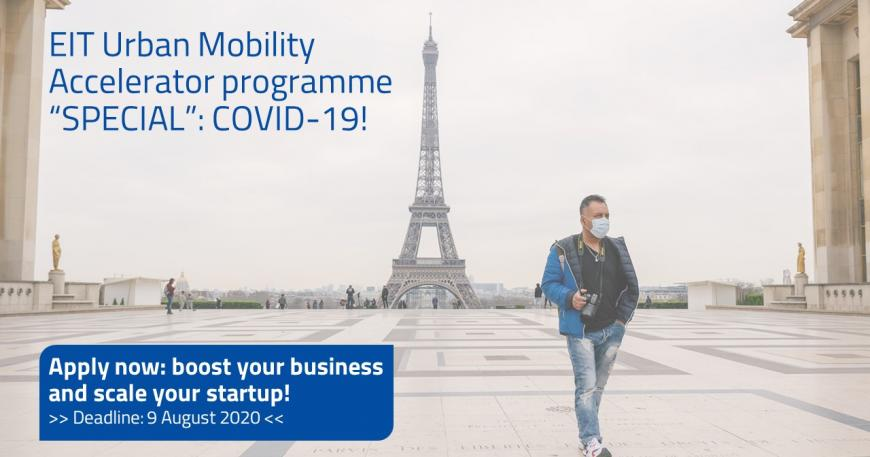 EIT Urban Mobility Accelerator programme SPECIAL: COVID-19