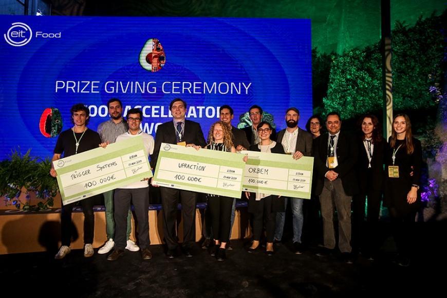 Meet EIT Food Accelerator Network Programme winners