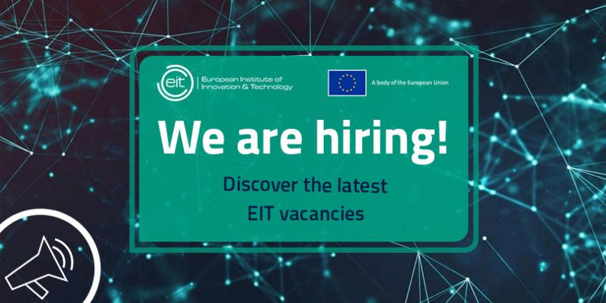 Vacancy at the EIT Headquarters: join our team!