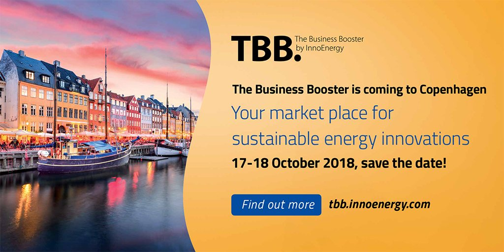 The Business Booster by EIT InnoEnergy on 17-18 October