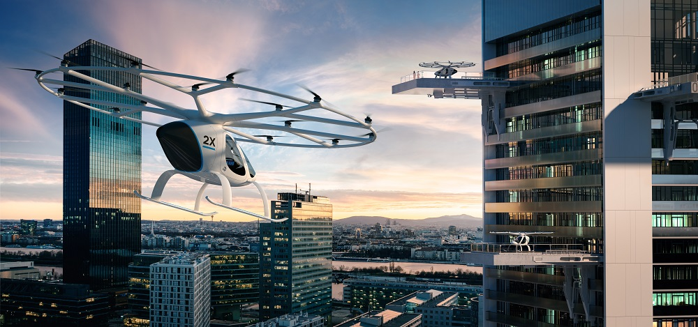 Volocopter's fully electric helicopter
