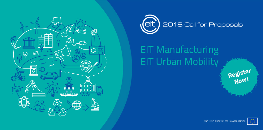 One week left to register!  Information Day for the EIT's 2018 Call for Proposals